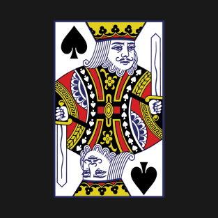King Of Spades T Shirts Teepublic