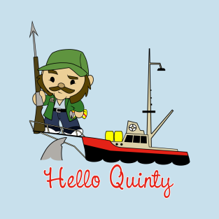 Hello Quinty t-shirts