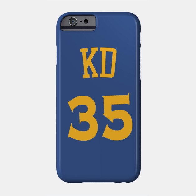 91ef6b1c1cf Kevin Durant  KD  Nickname Jersey - Golden State Warriors Phone Case