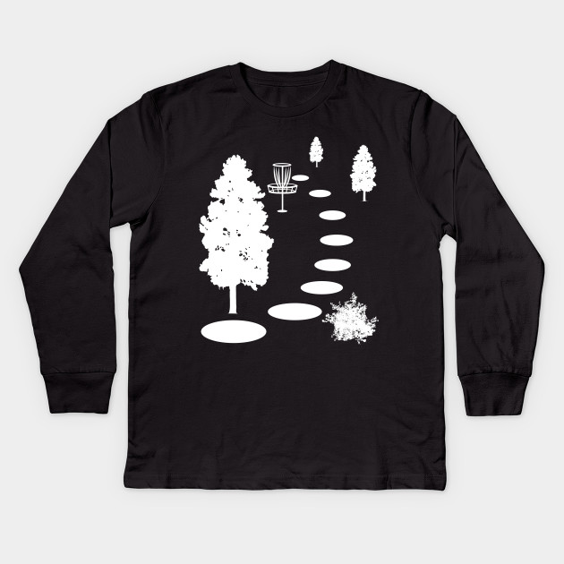 425f1d4d4 Stupid Tree Disc Golf T-Shirt   Funny Frisbee Golf Tee Kids Long Sleeve T- Shirt
