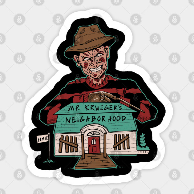 Mr Krueger S Neighborhood Nightmare On Elm Street Sticker Teepublic His birthday, what he did before fame, his family life, fun trivia facts, popularity rankings, and more. teepublic
