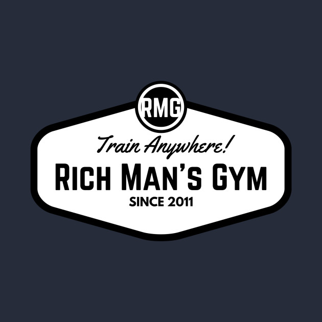 Vintage RICH MAN'S GYM
