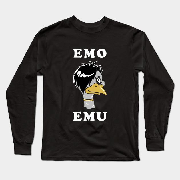 4eadfbcaa60 Emo Emu - Emo - Long Sleeve T-Shirt