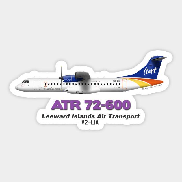 Avions de Transport Régional 72-600 - Leeward Islands Air Transport