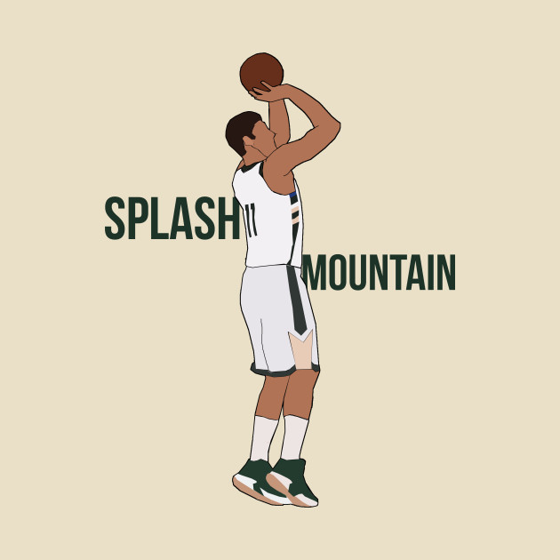 Brook Lopez 'Splash Mountain'- Milwaukee Bucks