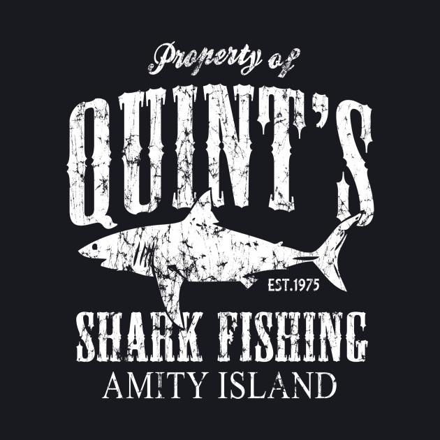 Retro Amity Island Quint's Shark Fishing