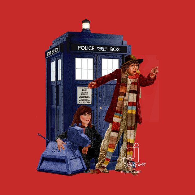 4th Doctor, Sarah Jane, K-9 and the TARDIS