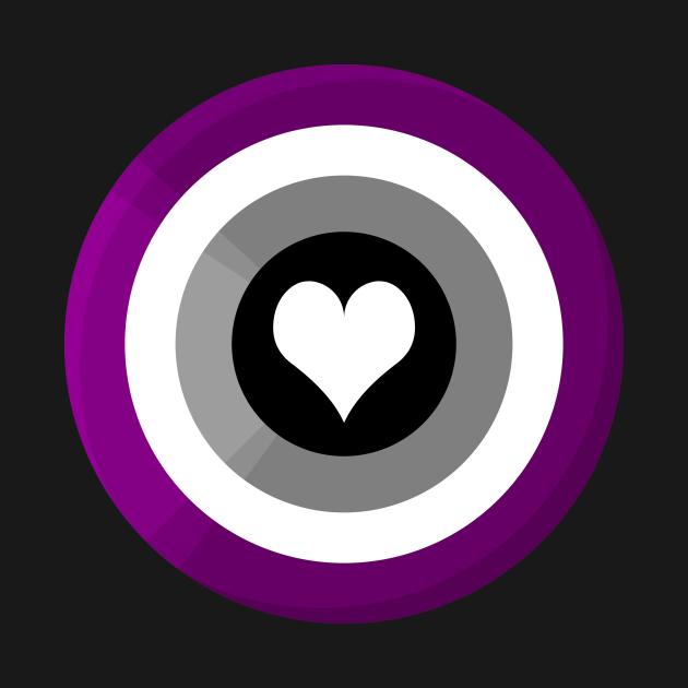 Pride Shield - Ace Flag