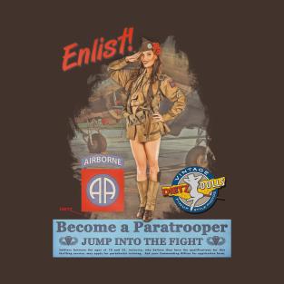 Paratrooper T-Shirts | TeePublic