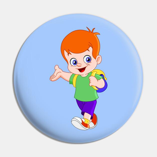 Schoolboy pin
