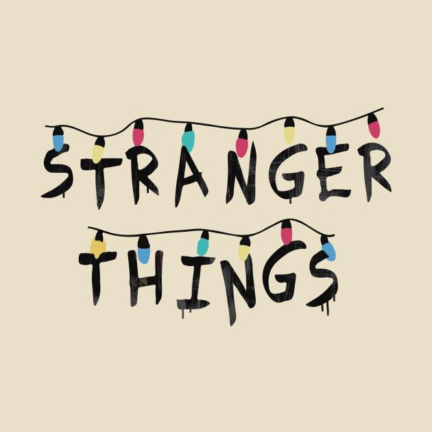 Stranger Things (Fairy Lights) - Bulbs - T-Shirt