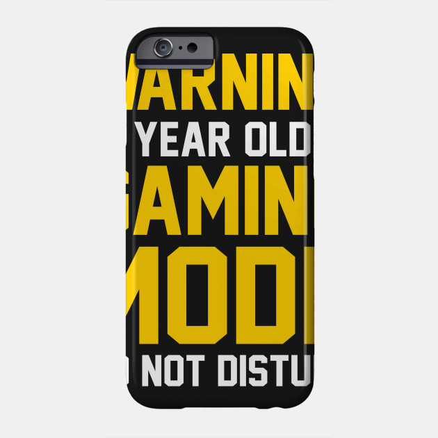 13th Birthday Gift Shirt 13 Years Old In Gaming Mode Gamer Phone Case