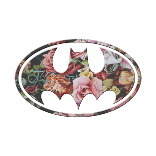 Floral Batman t-shirts