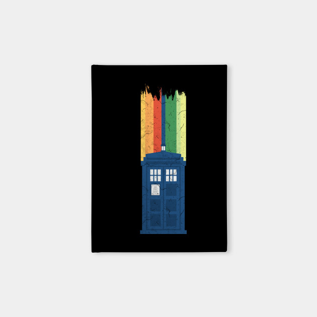 A New Doctor Is In The House - 13th Stripes Blue Police Box 2