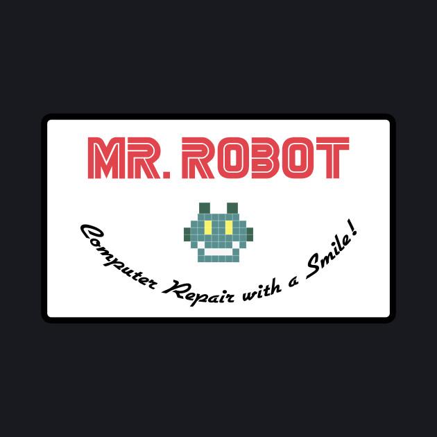 MR ROBOT - COMPUTER REPAIR (SMALL)
