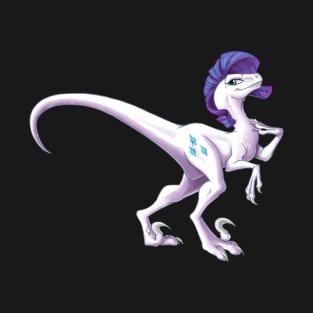 My Little Raptor - Rarity t-shirts