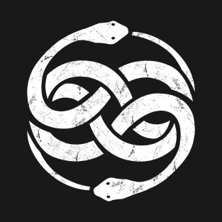 The NeverEnding Story Snake Symbol t-shirts