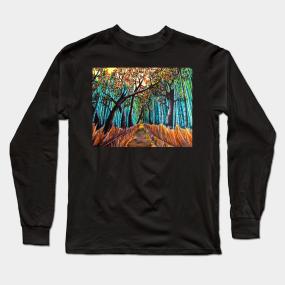 Tranquility Long Sleeve T-Shirts | TeePublic