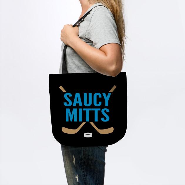 Saucy Mitts Hockey Logo