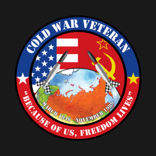 c85cd61cd Cold War T-Shirts | TeePublic