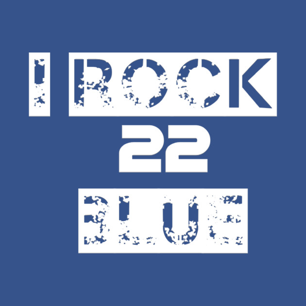 90a6c84f2d17 I rock blue - Throwboytees - Kids T-Shirt | TeePublic