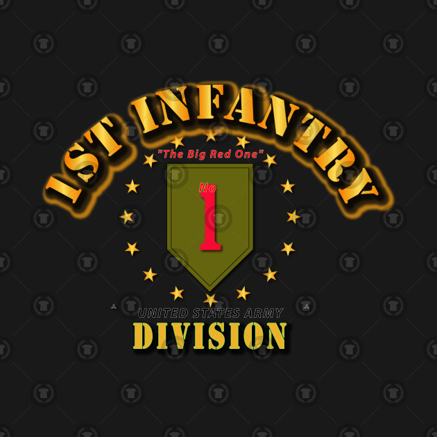 089f1326 1st Infantry Division - Big Red One - 1st Infantry Division Big Red ...