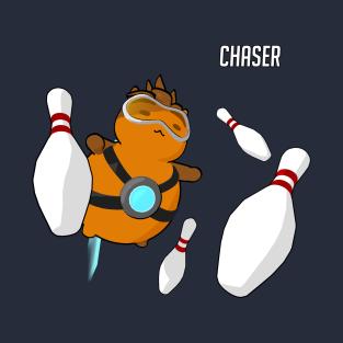 Chaser Bowling Ball - Katsuwatch t-shirts