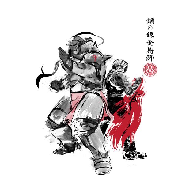 Brotherhood Sumi-e