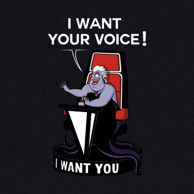 I want your VOICE!