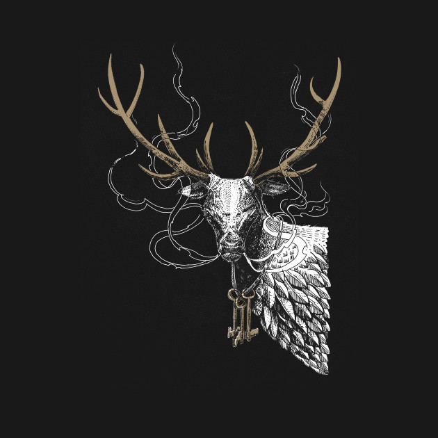 Feathered Stag
