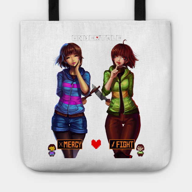 Undertale Frisk and Chara