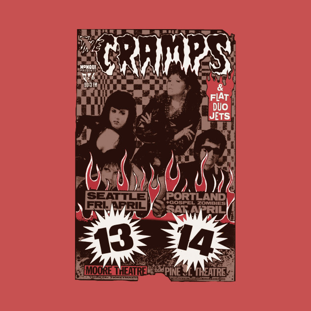 The Cramps (Seattle & Portland shows) Vintage