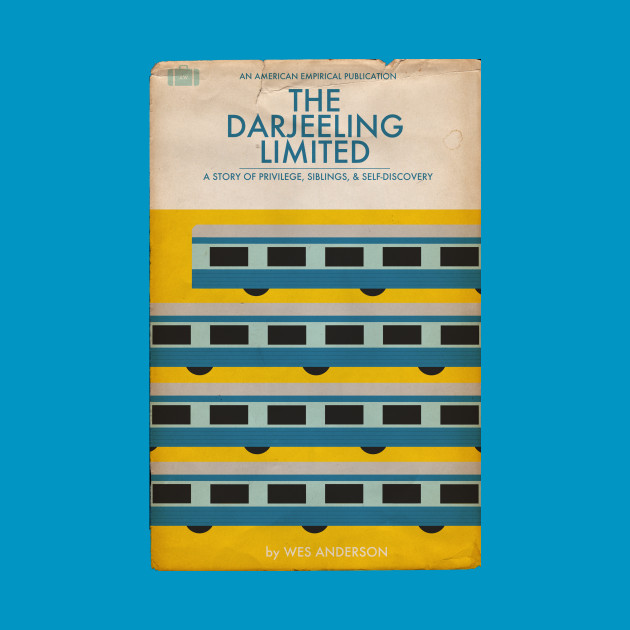 Darjeeling Limited Book Cover Tee