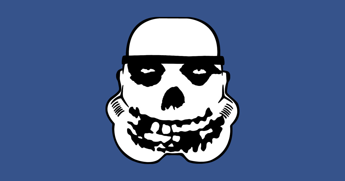 Fiend trooper misfits sticker teepublic
