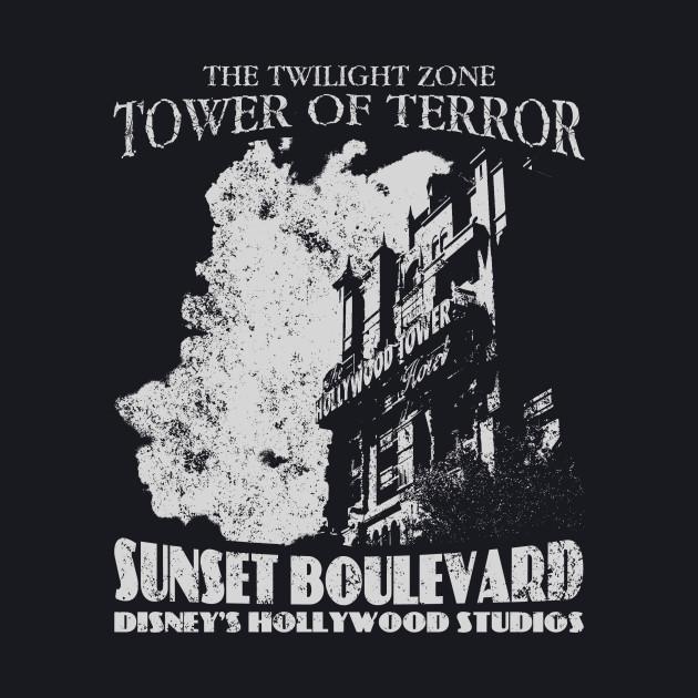 Tower of Terror Attraction - Light Variant