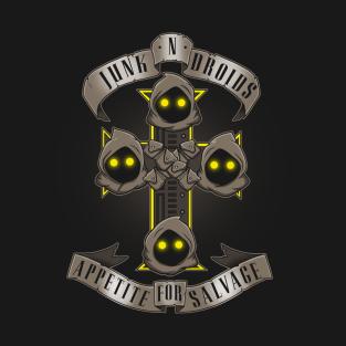Junk N' Droids t-shirts