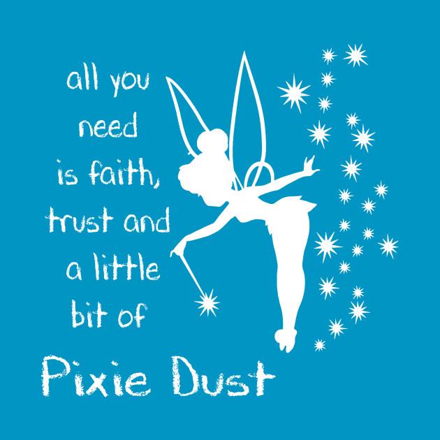 Faith Trust Pixie Dust Tinkerbell Mug Teepublic