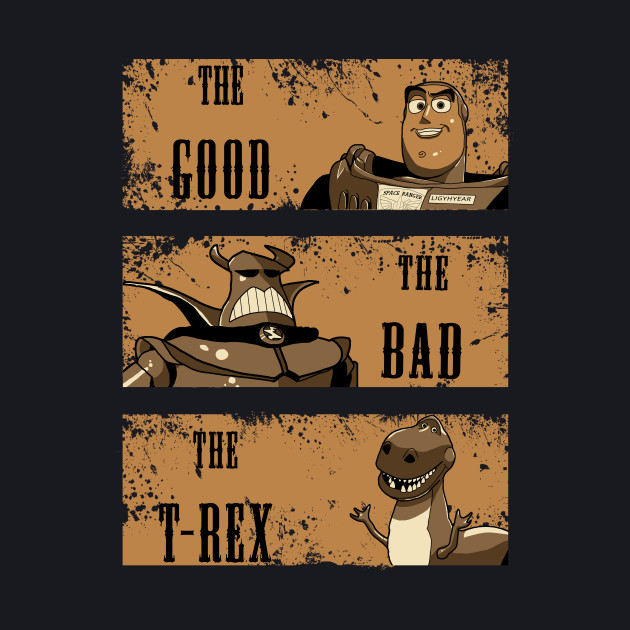 The Good, The Bad, The T-Rex