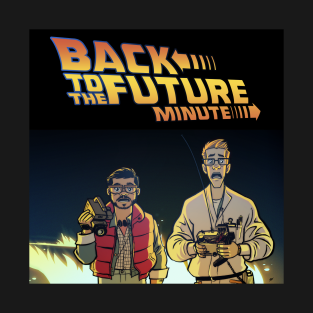 Back to the Future Minute Logo t-shirts