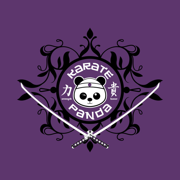 Karate Panda Laurel logo