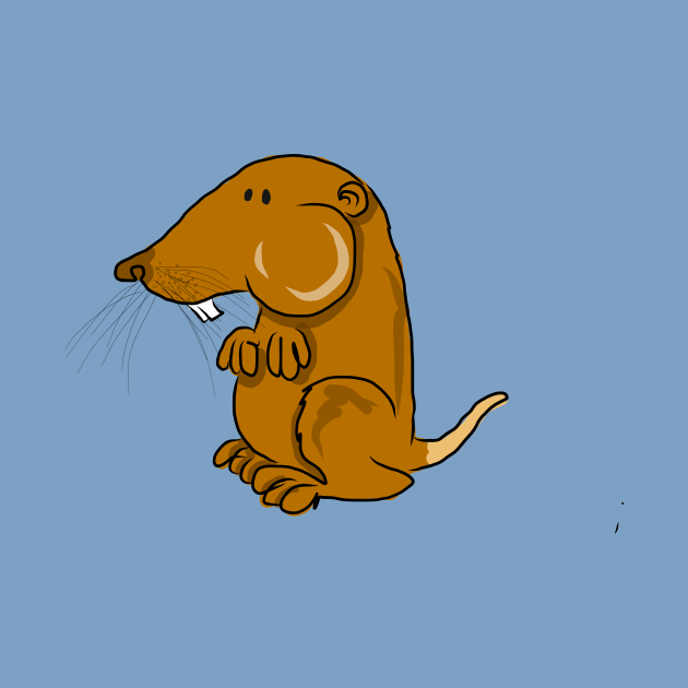 Ugly brown mouse