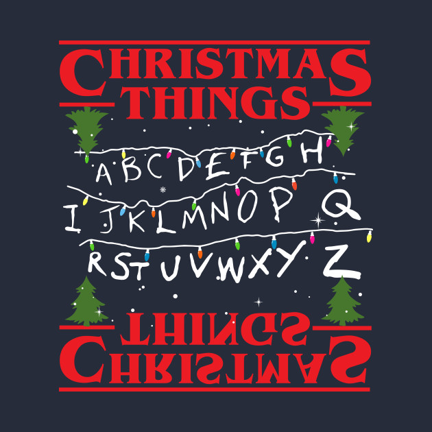 Stranger Things Christmas Things