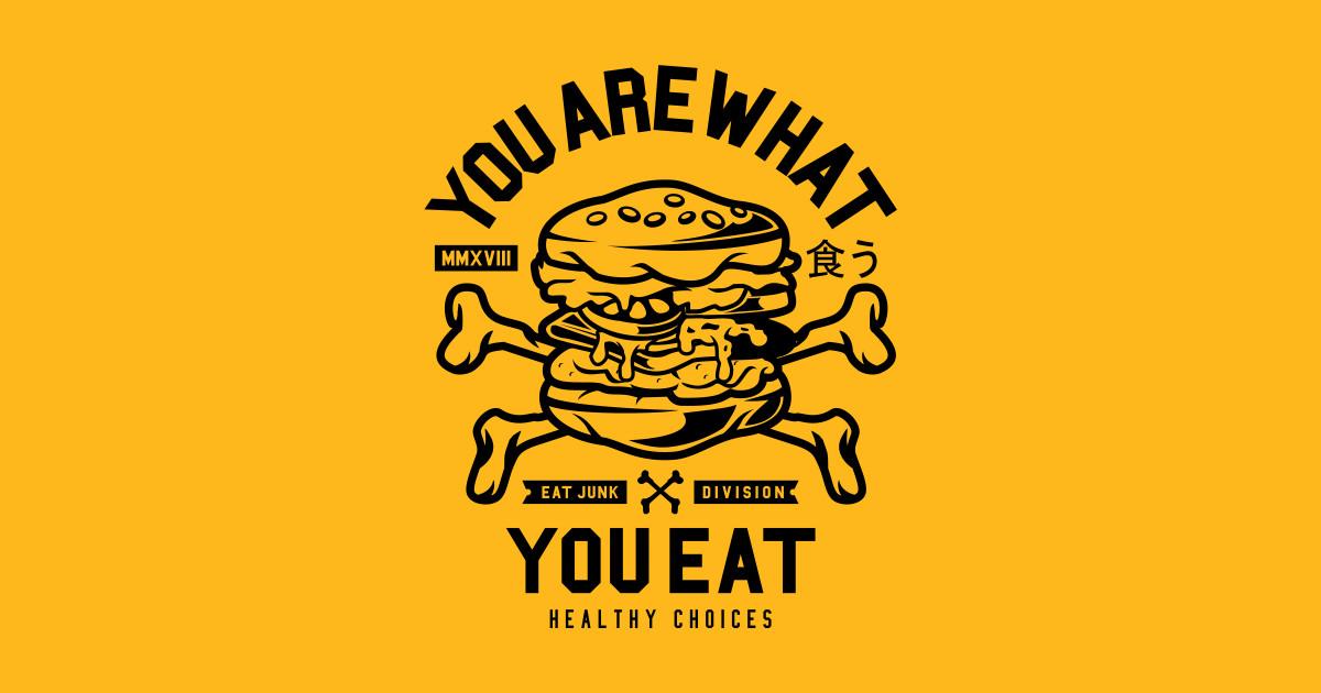 Junk food vs Healthy food by superfunky