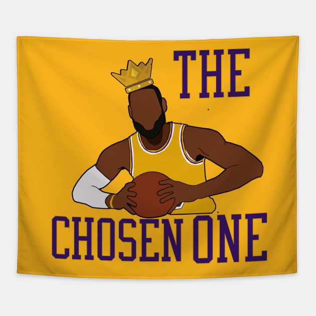 low priced 51a37 38481 Lebron James 'The Chosen One' - LA Lakers