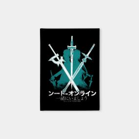 Sword Art Online Notebooks | TeePublic