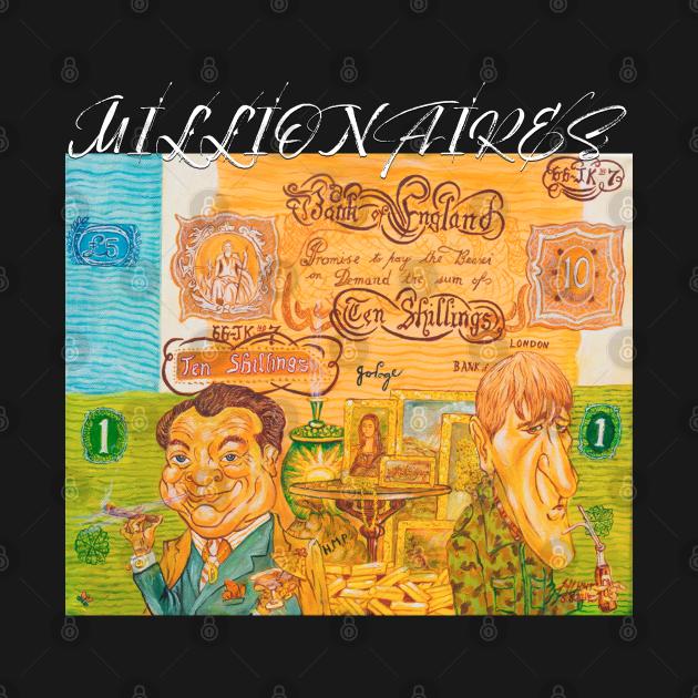 Millionaires - Del Boy & Roders Cartoon