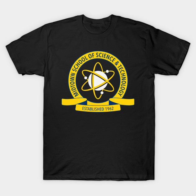 Midtown School of Science and Technology Logo T-Shirt-TOZ