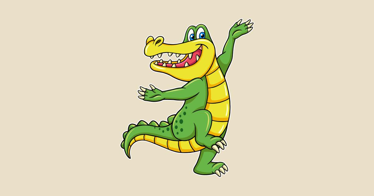 дополнительные танцующий крокодил картинки готовому