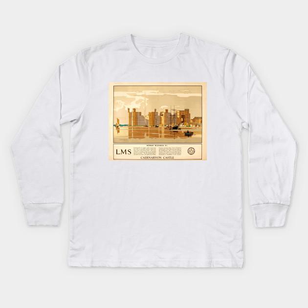 Wales City Vintage Long Sleeve T-shirt