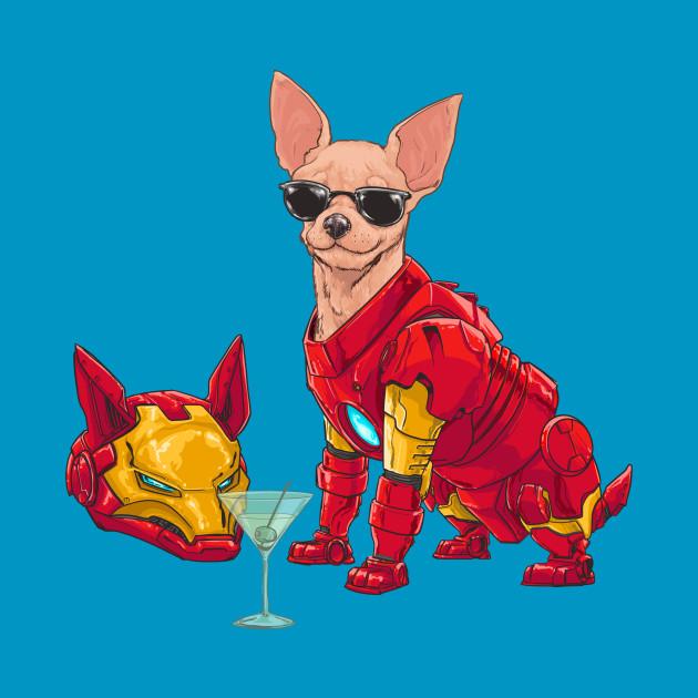 Iron Chihuahua aka Tony Bark